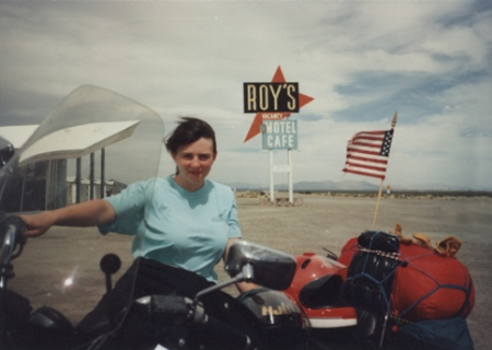 Robyn at Roys on Route 66