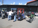 Dropping off Daves bike and Pressing on.