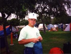 Magna Trip with Robyn, 1991.  Disneyland Campground
