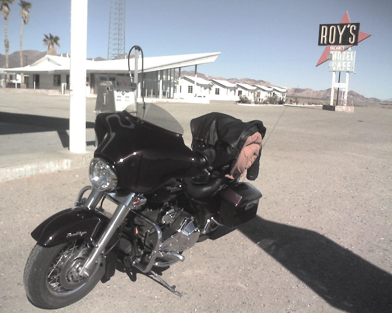 Harley Davidson, Meet Roys - Amboy Route 66