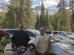 Wheeler Peak Campground, end of the road