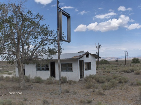 House in Warm Springs Nevada