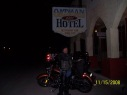 Oatman Hotel at Dark