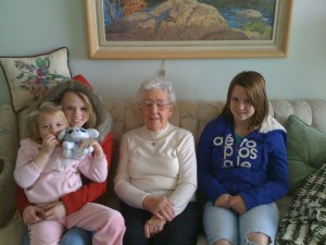 Grandma T and my Girls
