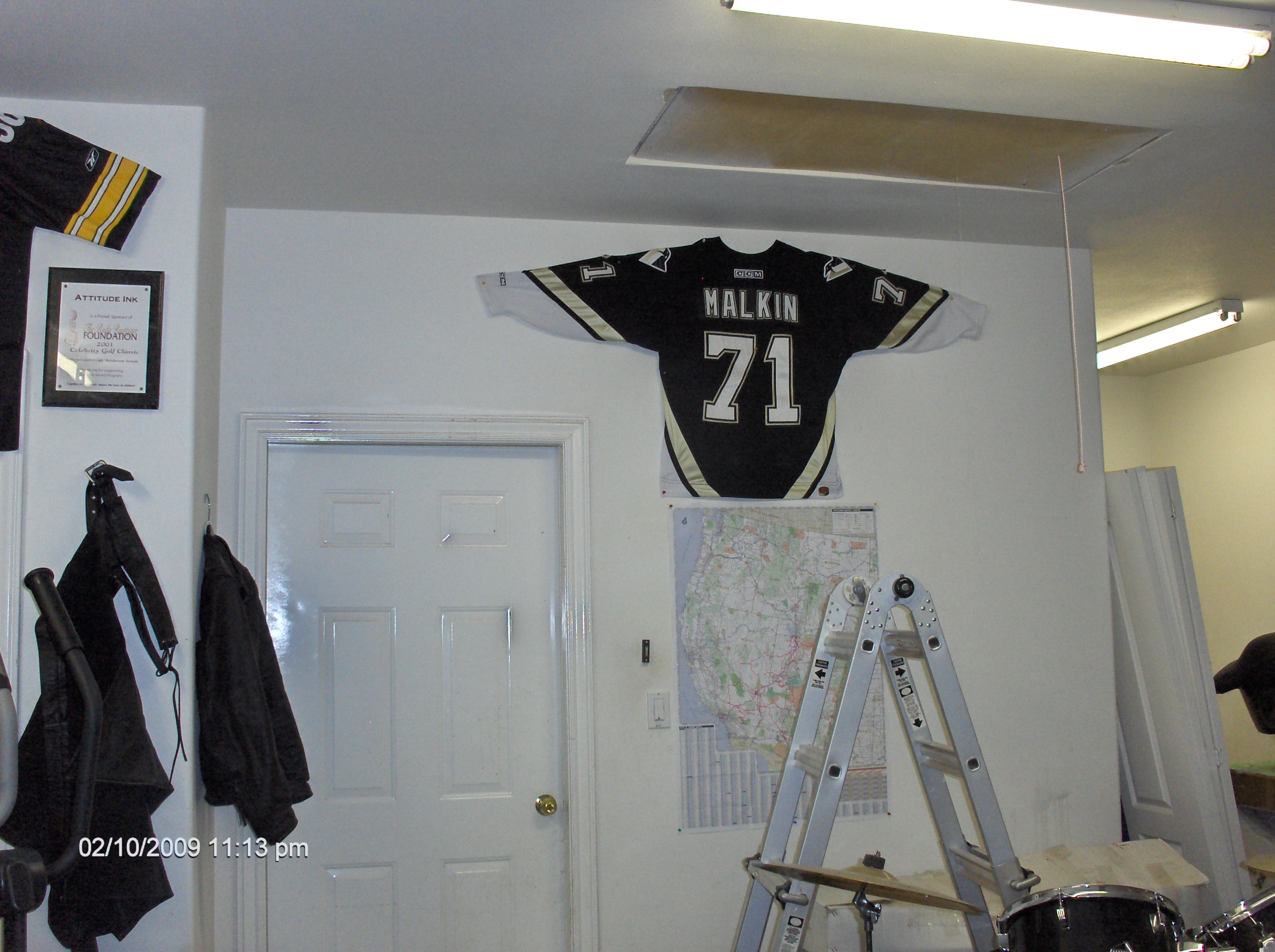 The fortress of Solitude - Map of my Journeys, Evgeni Malkin Jersey.