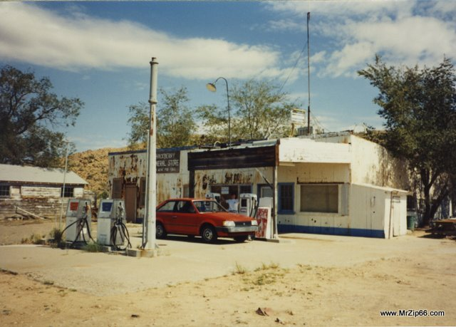 Hackberry General Store in 1991