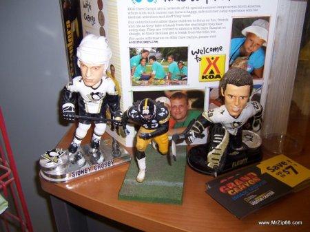 Sidney Crosby, Troy Polamalu & Marc Andre Fleury