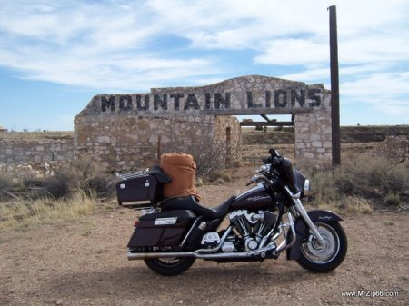 Street Glide at Two Guns Arizona