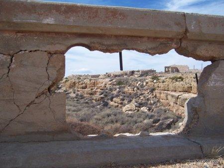Canyon Diablo Bridge is Crumbling