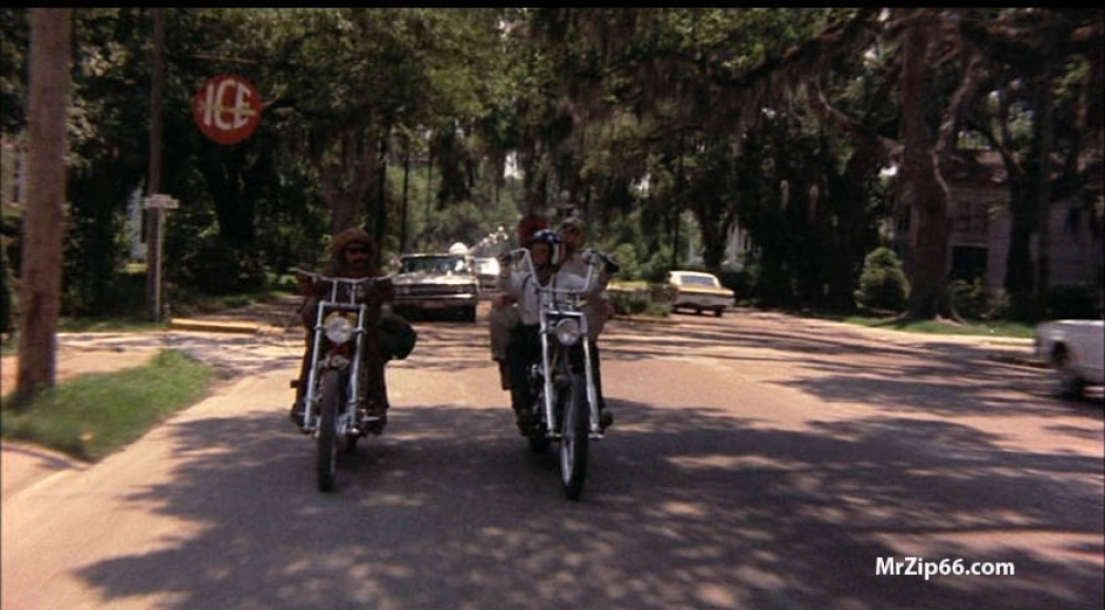 Our Hero's riding down the streets of Franklin