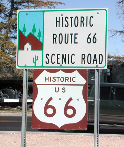 Easy Rider Through Route 66