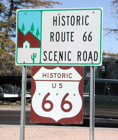 Easy Rider Through Route 66