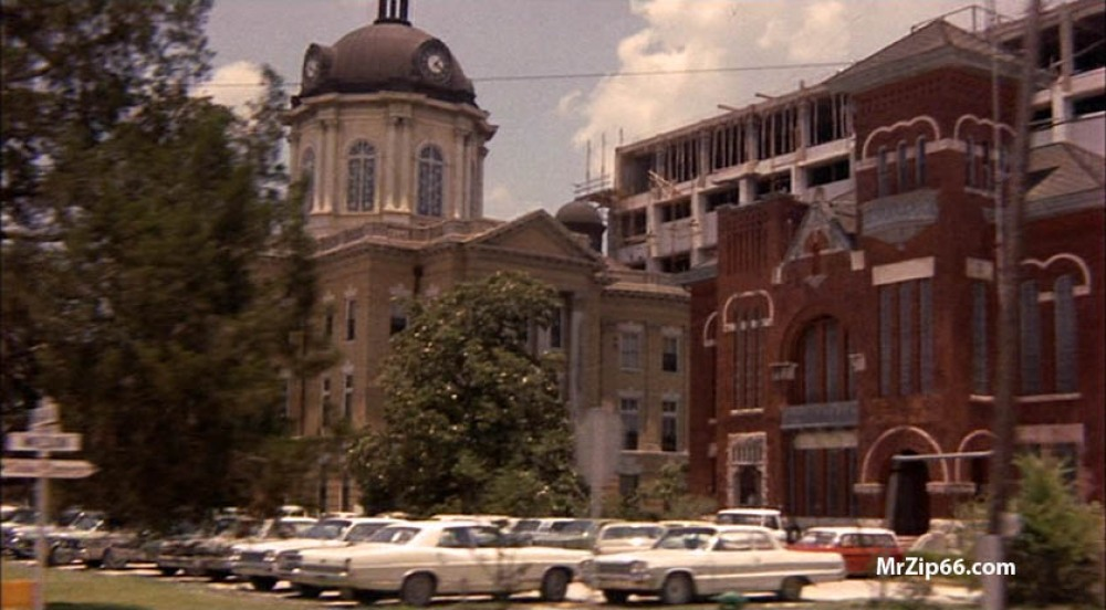 Old Courthouse, Franklin Louisiana Then...