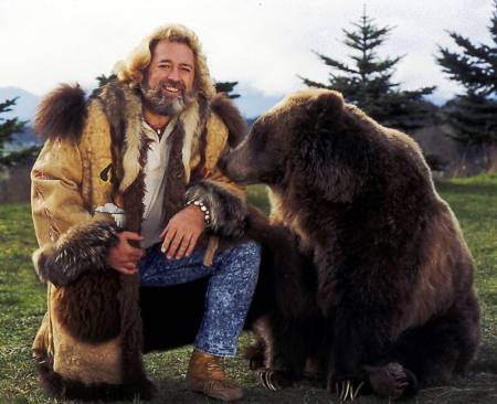 Grizzly Adams can ride.   Can you?