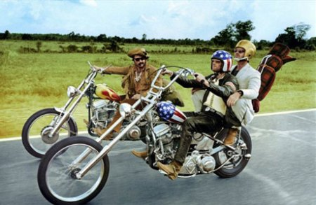 Captain America and Billy didn't screw around.   Get out and ride.