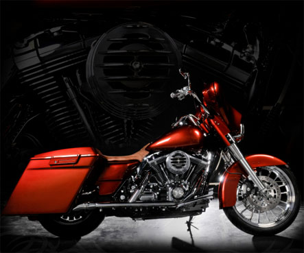 Sweet Ride.   Custom 2008 Electra Glide Classic