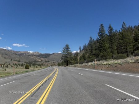 Near Willow Springs California. About 12 Hours into the Ride. Around 700 miles so far...