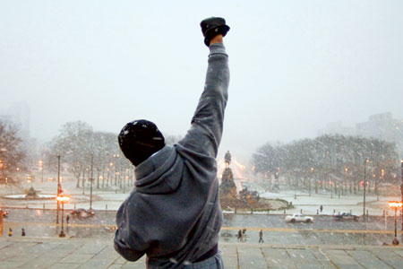 Rocky.   Greatest movie ever made.