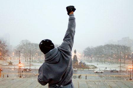 Rocky.   Greatest movie ever made.