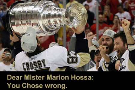 Hahaha, Marion..... YOU CHOSE WRONG.